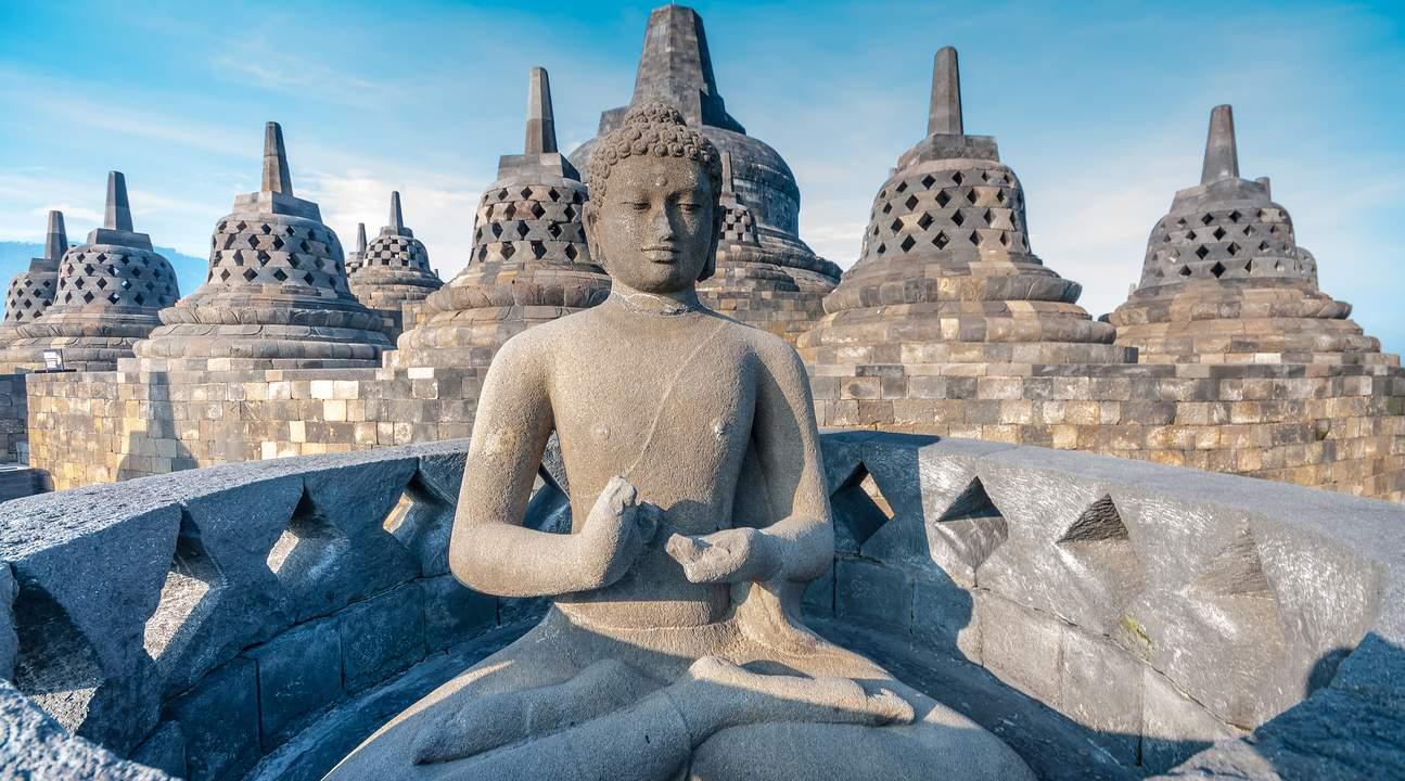 Yogyakarta buddha temple